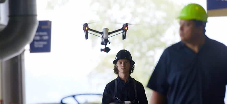 AT&T drone operators