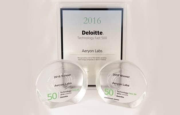 Aeryon Labs Deloitte Technology award