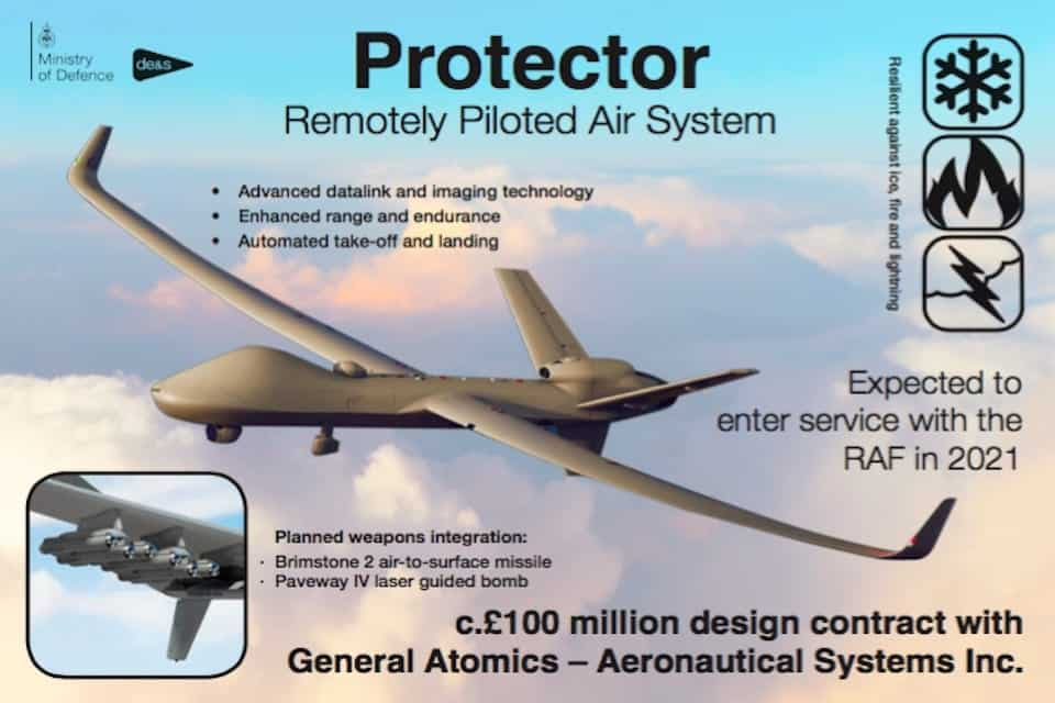 'Protector' RPAS infographic