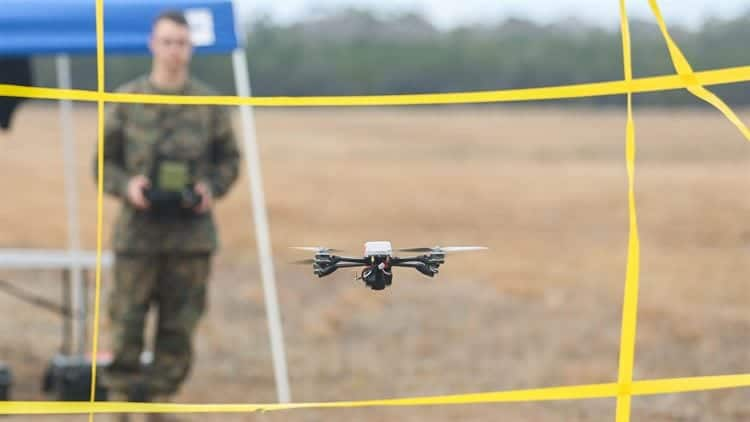 US Marines Instant Eye drone