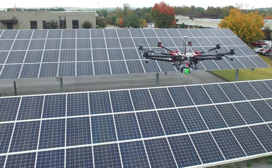 Aerial UAV Inspections