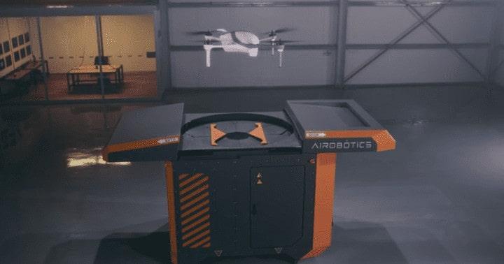 Airobotics automated drone platform