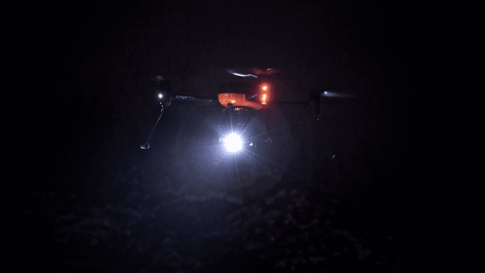 Draganfly Commander nighttime operation