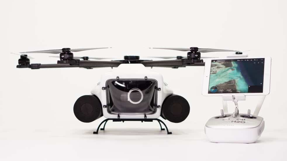 QuadH2O HexH2O Pro waterproof drone