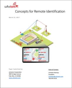 uAvionix Remote Identification White Paper