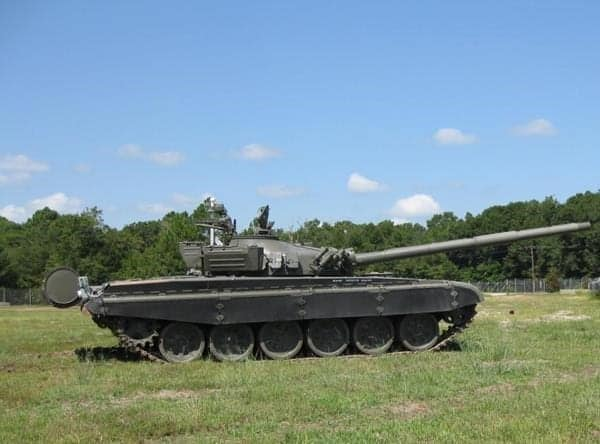 Kratos unmanned T-72 tank target