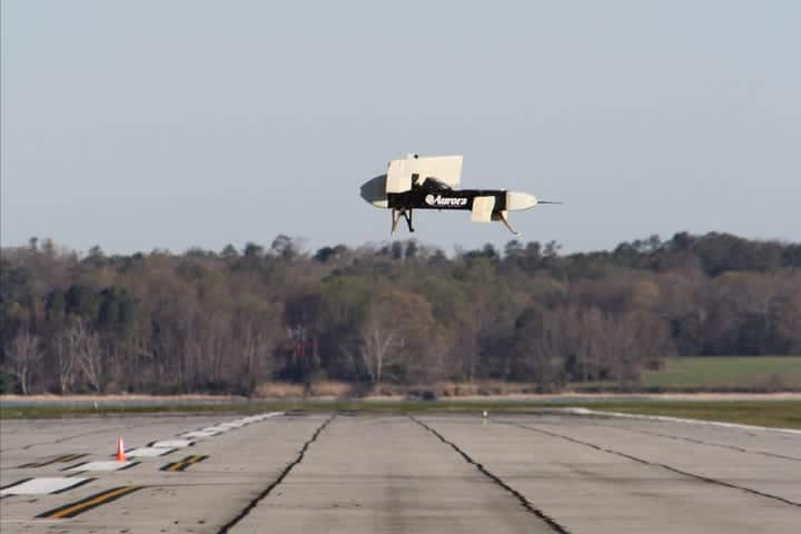 LightningStrike VTOL UAS subscale demonstrator