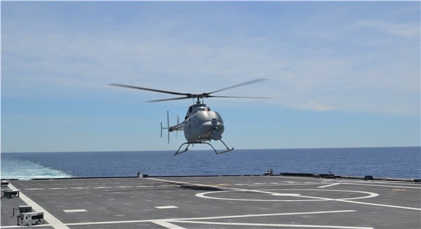 MQ-8C Fire Scout UAS