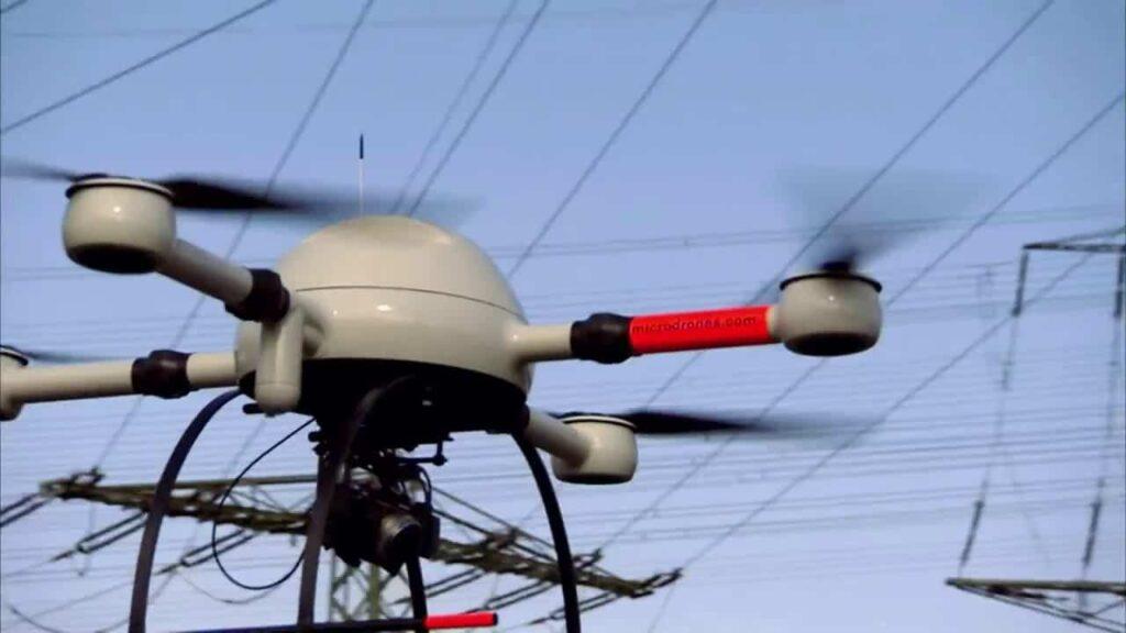 microdrones mdMapper UAS