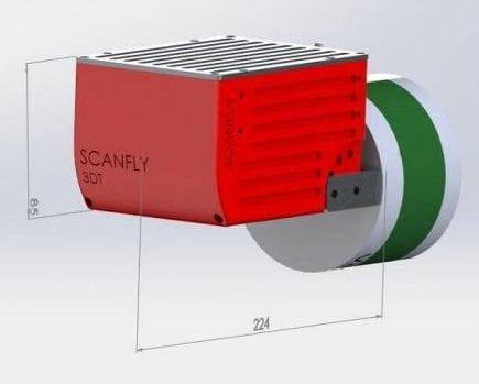 3D Target Scanfly LiDAR system