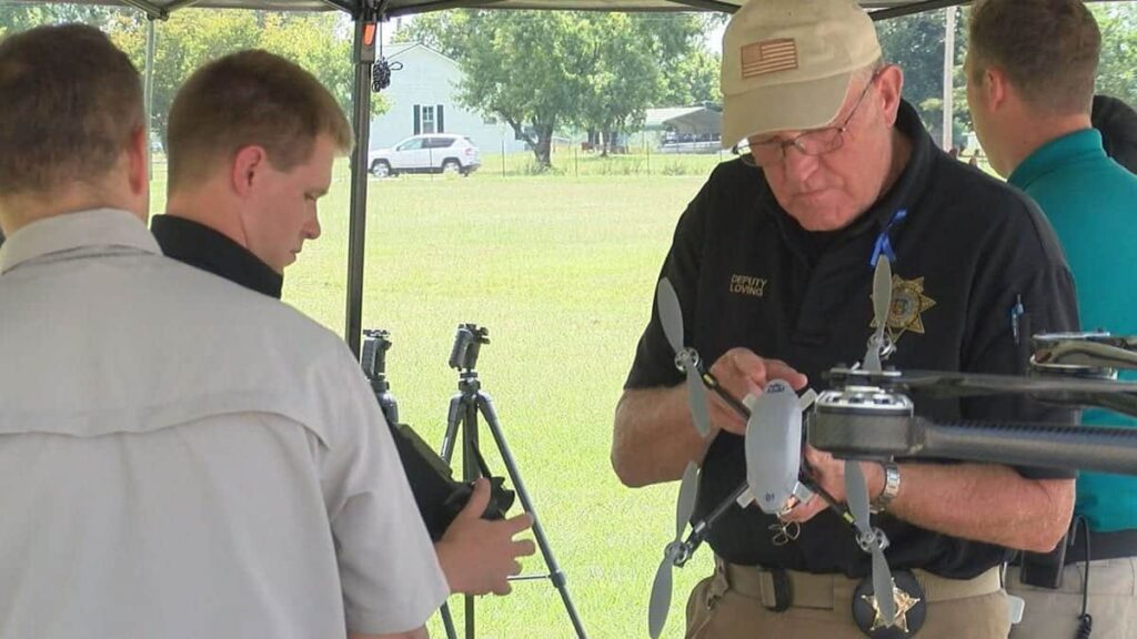 Limestone County Sheriff's Office drone training with Avion Unmanned