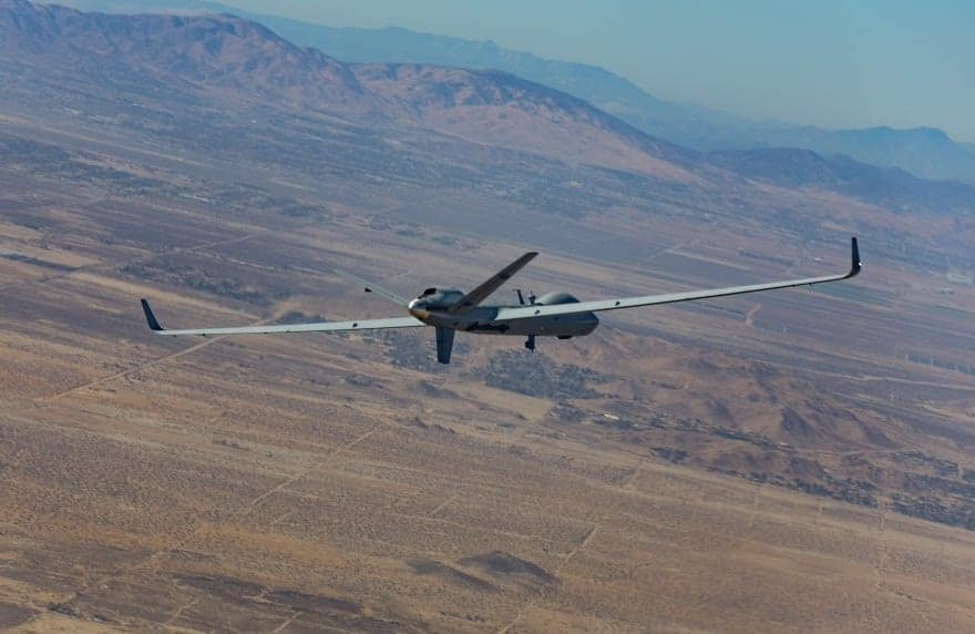 MQ-9B SkyGuardian UAS