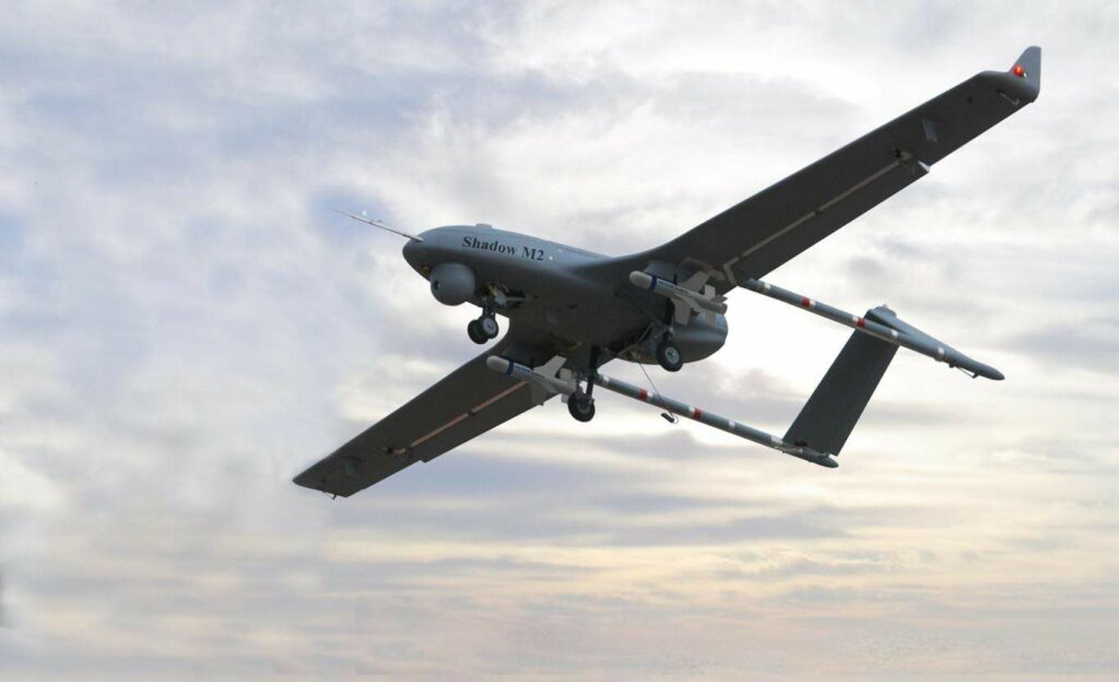Textron Shadow M2 UAS with Fury munitions