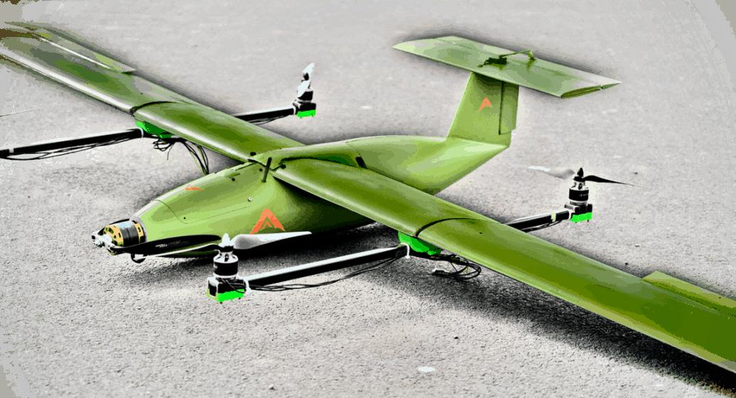 Raptor EV Hybrid VTOL UAS