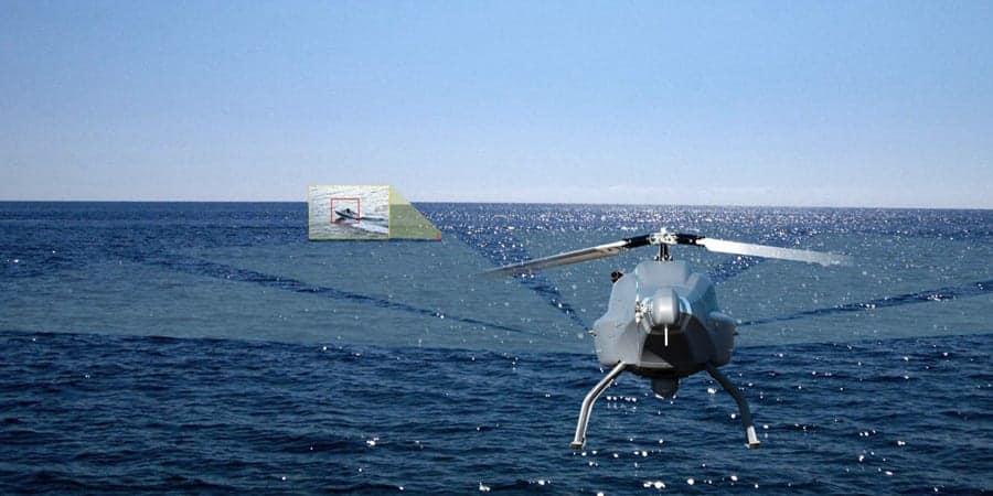 UMS SKELDAR drone with ViDAR