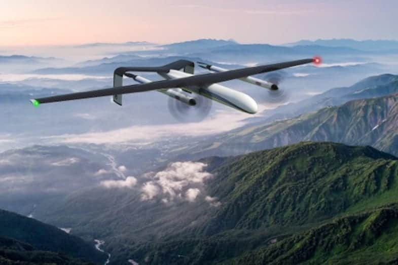 Wirth Research Hydrogen VTOL UAV