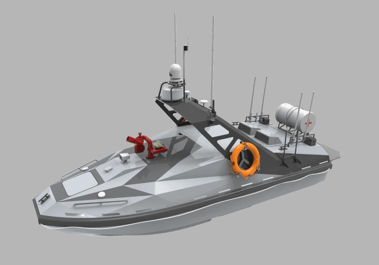 L30 Fire Control and Rescue USV