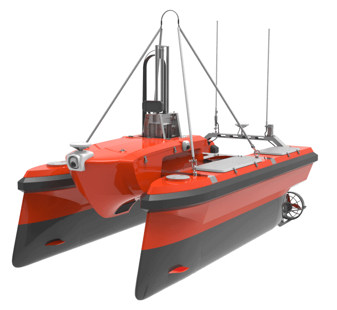 M40A Catamaran Oceanographic Survey Unmanned Boat