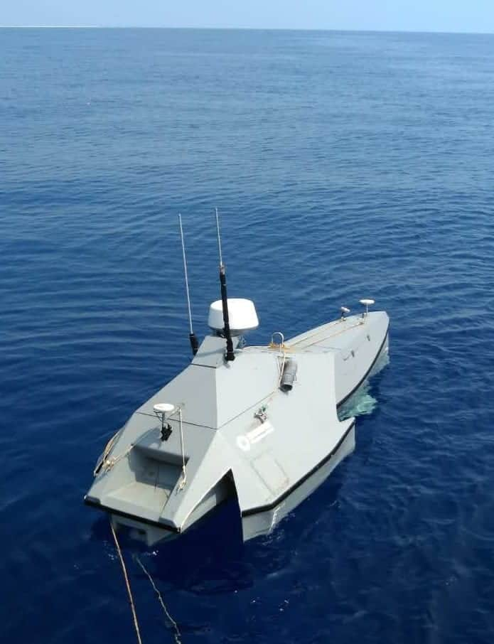 M80B Oceanographic Survey USV