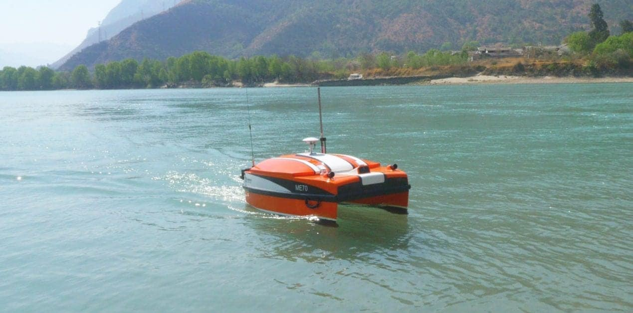 ME70 Catamaran Hydrographic Survey USV