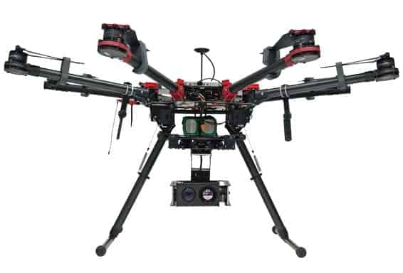 USG-302 Gimbal Installed on DJI S1000