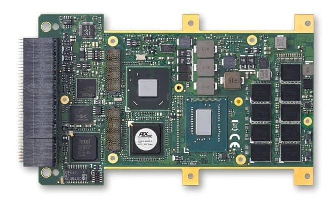 VPX3000 Rugged 3U Processor Blade for UAVs and Robotics