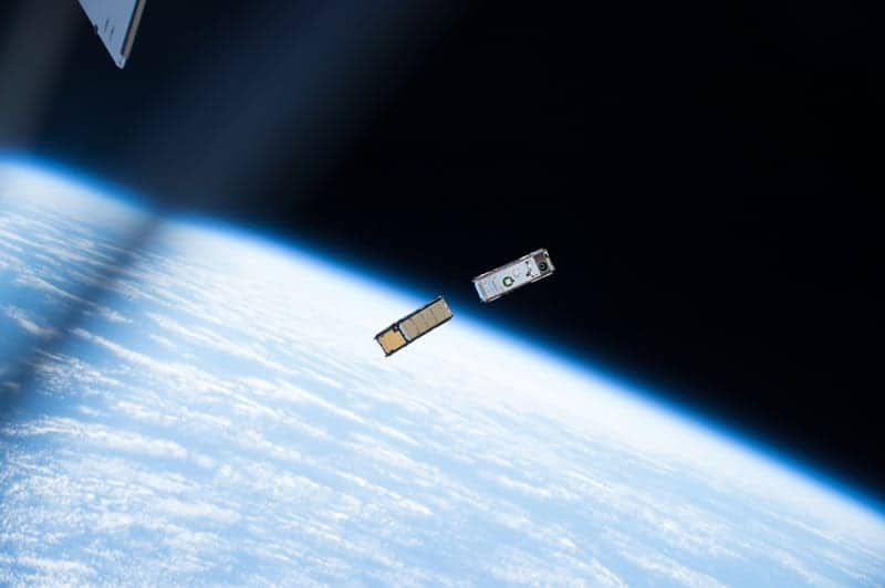 Alta Devices small satellite