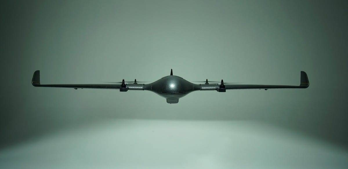 DeltaQuad hybrid VTOL UAV
