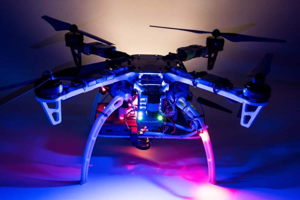 Draper and MIT vision-aided navigation drone