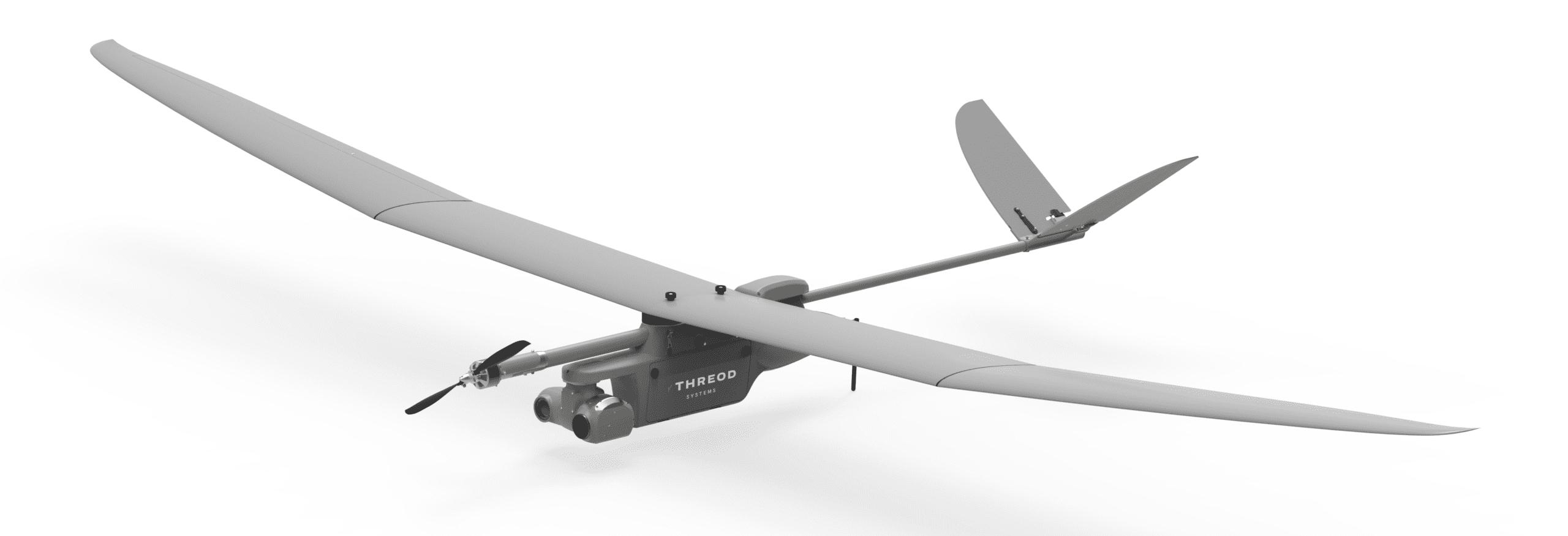EOS Fixed Wing Mini-UAV Drone