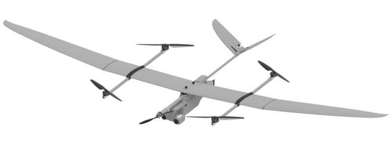 EOS VTOL Fixed Wing Hybrid UAS