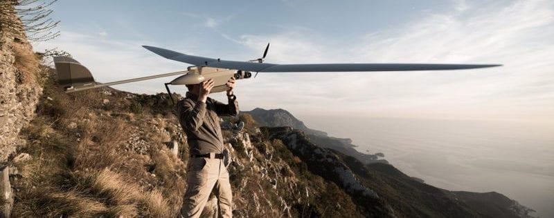 EOS mini-VTOL Fixed-Wing Hybrid Drone