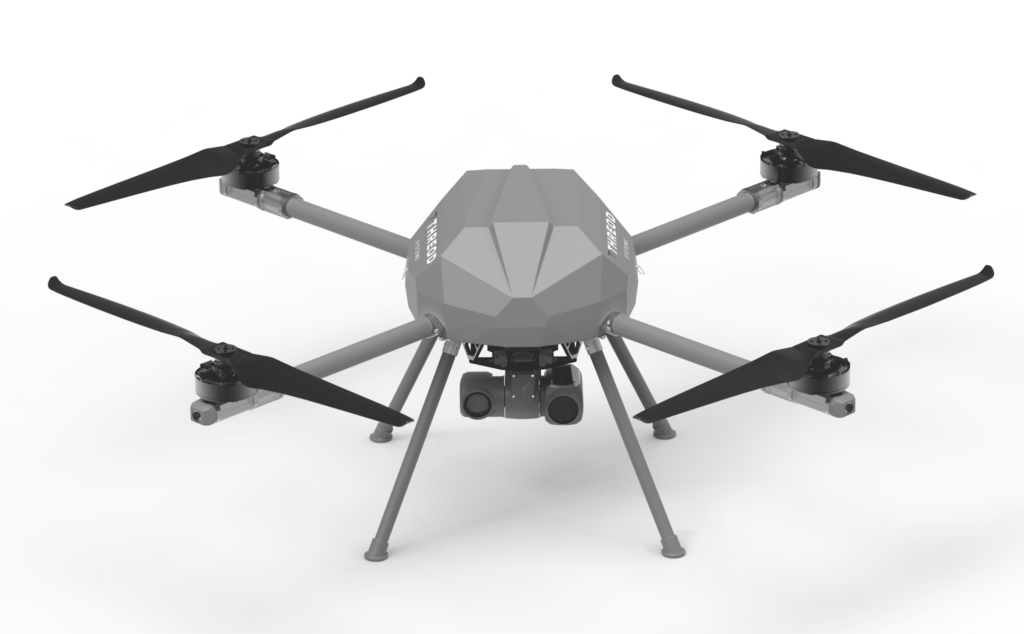 KX4-LE VTOL Drone Platform