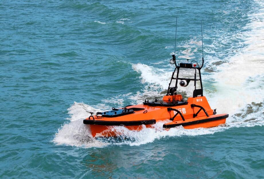 M80 Oceanographic Survey Unmanned Surface Vessel