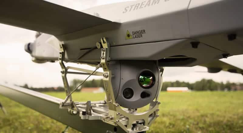 ORCA MWIR drone camera gimbal