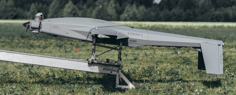 Stream C fixed wing drone