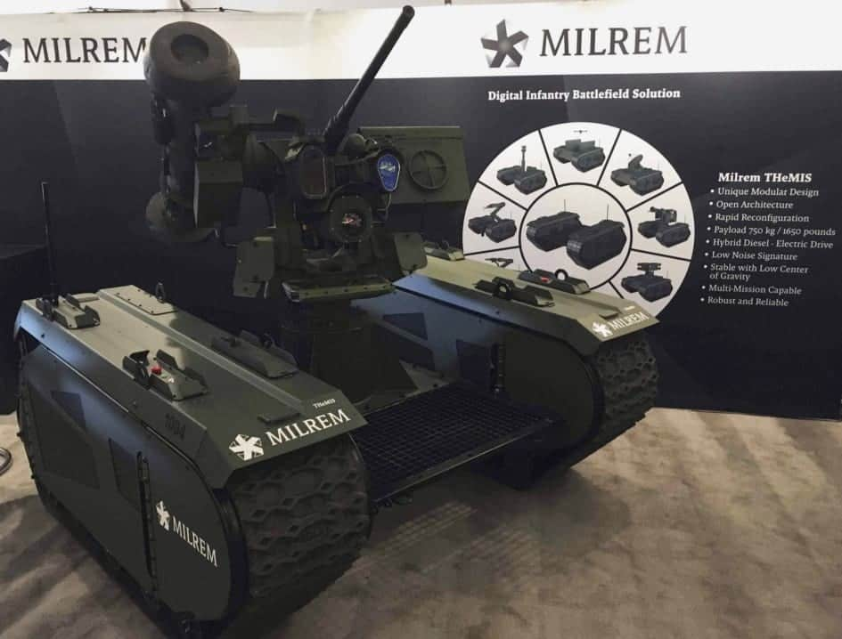 MILREM to Upgrade THeMIS UGV with Silvus Wireless Datalink