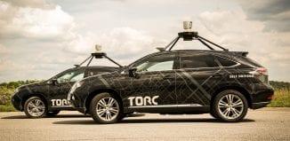 Torc Robotics Self-Driving Car