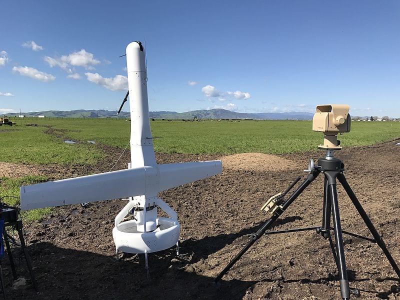 VStar Systems SIGINT sensor on VBAT UAV