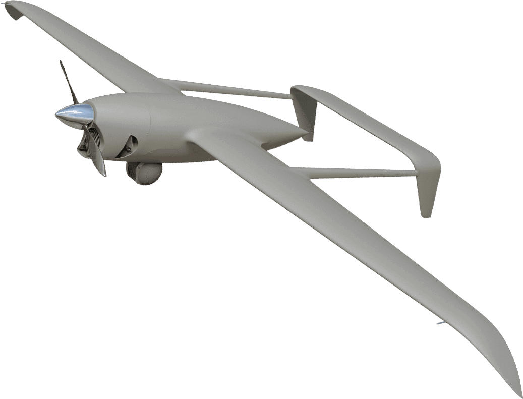 ACS Series Fixed Wing UAS Commercial Drone