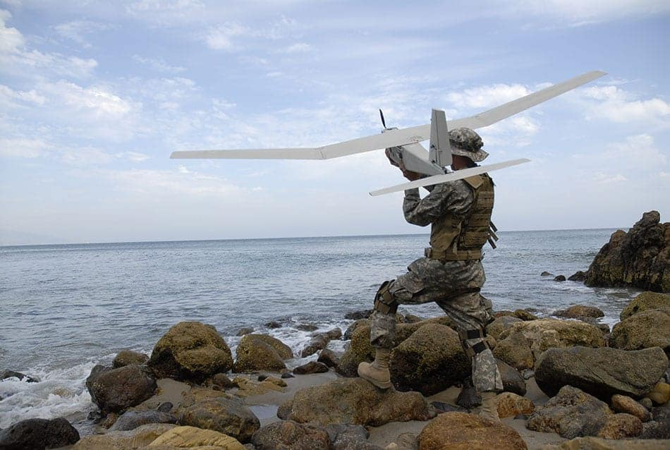 AeroVironment Long-Range Tracking Antenna Extends Puma AE