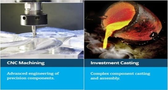 CNC Machining and Complex Lightweight Castings