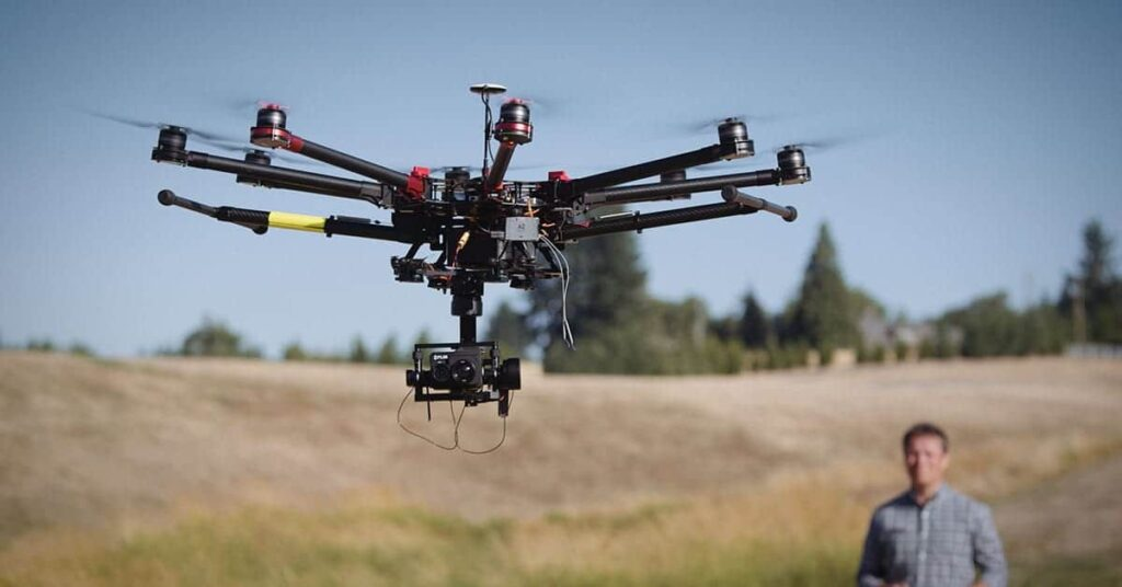 Drone with FLIR Duo Pro R