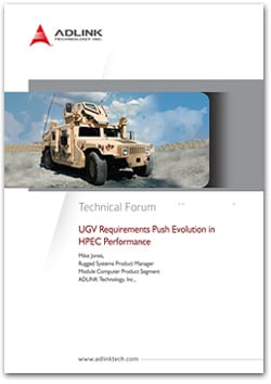 Future HPEC requirements for UGVs