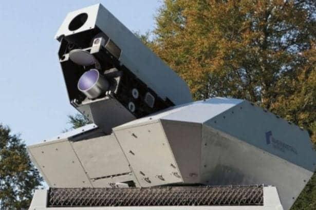Lockheed Martin ATHENA laser