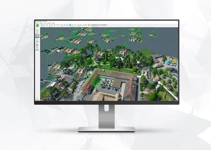 Pix4D drone mapper software