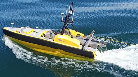 Radios and mesh networks for USVs