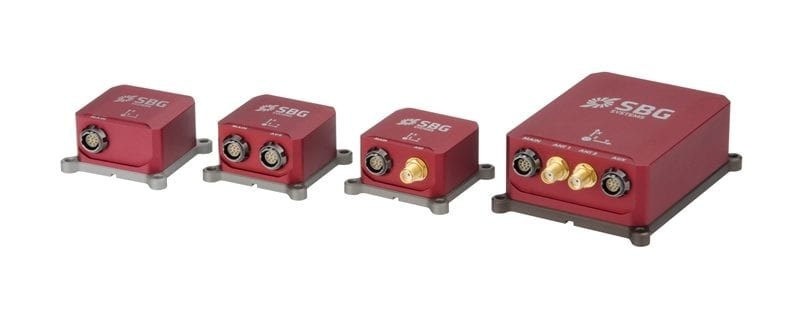 SBG Systems Inertial Sensors