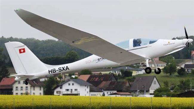 SolarStratos HB-SXA solar powered aircraft