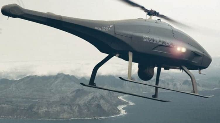 UMS SKELDAR unmanned helicopter UAS